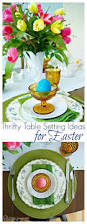 easter decorating ideas for the home thrifty table setting ideas for easter easter table easter and