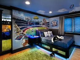 baseball themed teenage boy u0027s room leslie lamarre hgtv