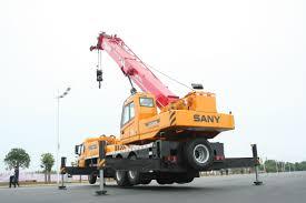 mobile crane boom folding construction sany stc250h 25