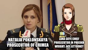 Phoenix Wright Meme Generator - yep natalia poklonskaya know your meme