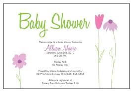 baby shower invitations sample baby shower invitations baby
