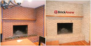 brick fireplace paint makeover ideas gallery of idea fireplace