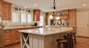 warm wood tones in a traditional kitchen texas paint