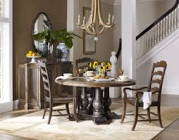 hooker furniture dining room applewhite 60in round dining table