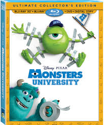 Monsters University Halloween by Monsters University Blu Ray Combo Pack U0026 Monsters University