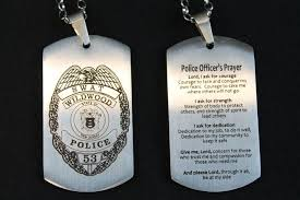 engravable dog tags stainless steel policeman dog tags with custom badge