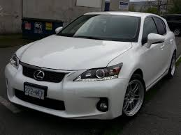 lexus ct200 tires lowest offset widest wheel on ct w just rolled fenders page 6