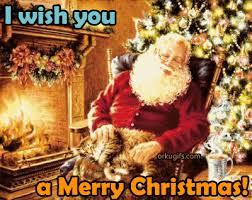 i wish you a merry santa claus merry