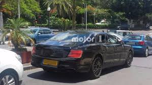 2018 bentley flying spur 2019 bentley flying spur spied hiding production body