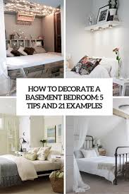 How To Decorate A House by How To Decorate A Basement Bedroom 5 Ideas And 21 Examples Digsdigs