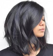 lob haircut dark wavy hair 80 sensational medium length haircuts for thick hair in 2018