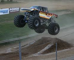 bigfoot the monster truck monster truck meltdown invades atomic speedway sports