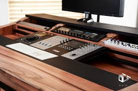 Recording Studio Desks Akai Mpc Forums Custom Studio Desk Aurora Mpc Customisation