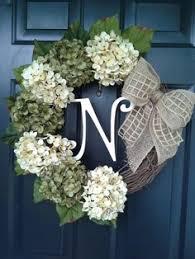 hydrangea wreath so easy and this diy faux hydrangea fall wreath