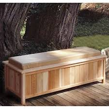 Cushioned Storage Bench Cool Looking Comfortably Cushioned Storage Bench Dream A Little