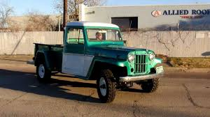 willys jeep truck for sale 1962 willys pickup avi youtube