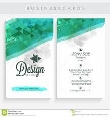 Abstract Business Cards Abstract Business Card Set Stock Photo Image 59431221