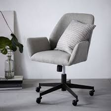 white upholstered office chair looking for the office chair adore home magazine