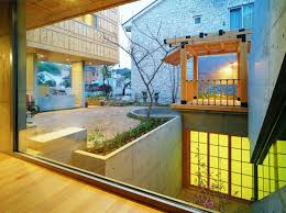 u shaped house with courtyard garden design in india latest home l