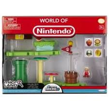 wii u black friday 2014 playset micro figure super mario bros wii u acorn plains set 1