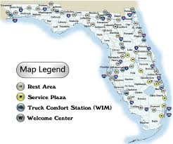 florida rest areas roadside fl rest stops maps facility