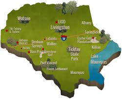 Louisiana Parish Map With Cities by Livingston Parish Convention U0026 Visitors Bureau Travel And Tourism