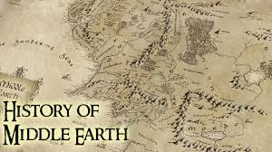 Map Middle Earth History Of Middle Earth Lord Of The Rings Youtube