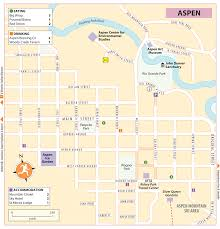 Aspen Colorado Map by Rg B Format
