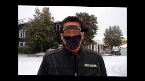 no fog motorcycle goggles face protection below freezing youtube