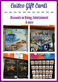 gift card discounts costco gift card save on dining entertainment and gifts