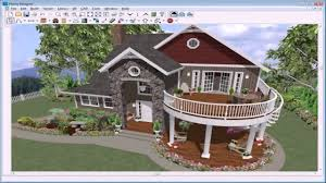 Real Estate Floor Plans Software by 3d House Exterior Design Software Free Download Youtube