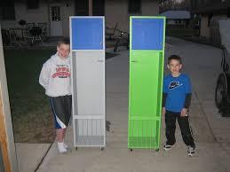 diy kids lockers diy garage lockers plans