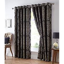 Gold Curtains 90 X 90 Black U0026 Gold Jacquard Lined Curtains 90 X 90