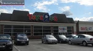toys r us teetering on the brink of collapse uk retail sector