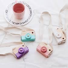 2017 mini wooden kids camera toy lovely children u0027s room decor