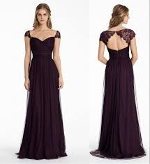 plum wedding dresses best 25 plum colored bridesmaid dresses ideas on plum