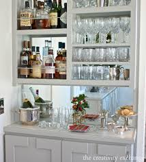 Bar Hutch Diy Narrow Built In Bar