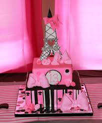 Cake Decoration At Home Ideas Interior Design Fresh Paris Themed Cake Decorations Decoration