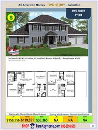 Modular Home Floor Plans Prices Billingsley Two Story Style Modular Homes Two Story Modular Floor