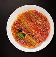 tarte tatin cuisine az rezept mit bild für rhabarber tarte tatin oder cake