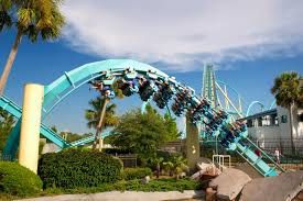 Sea World Orlando Map by Top 10 Roller Coasters In Orlando Cultural Travel Guide