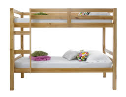 Betternowmcouk Straight Solid Pine Wood BUNK BED With  X - Pine bunk bed