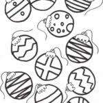 free christmas ornaments coloring pages printables coloring
