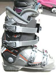 womens size 9 in ski boots dalbello vantage vt downhill ski boot womens size 9 5 silver