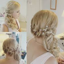 plaits and curls bridal hair look norwich norfolk hairdresser