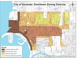 Sarasota County Zoning Map Sarasota Downtown Map Image Gallery Hcpr
