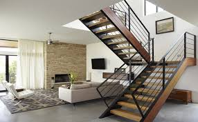 L Shaped Stairs Design Stepping Up