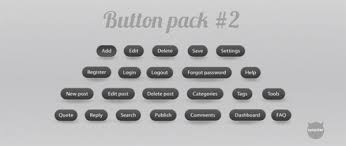 grey css 23 grey web ui buttons pack psd css welovesolo