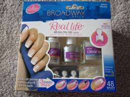amber likes beauty broadway brush on gel nail kit review