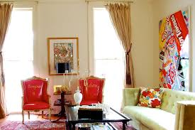 living room drapery ideas living room eclectic with artwork bold